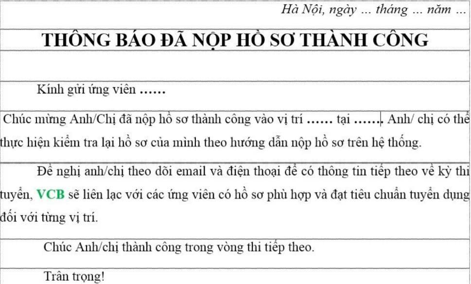 huong dan nop ho so online vao vietcombank 9