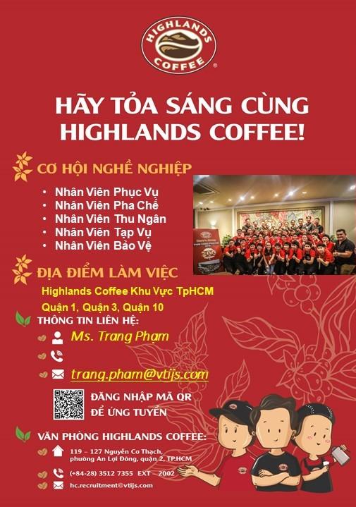 highlands coffee tphcm